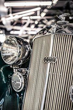 Horch Audi Auto Union radiateur ornement sur autofotografie nederland
