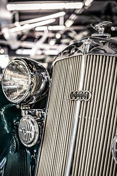 Horch Auto Union Audi radiator ornament van autofotografie nederland