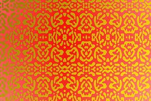 Roodtonen en goudtonen... van Harry Ucksche