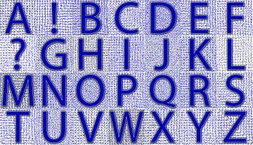 Alfabet nr.09 Winter van Leopold Brix