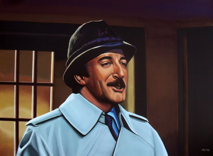 Peter Sellers als Inspector Clouseau van Paul Meijering