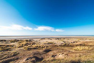 Uitzicht op de duinen van Florian Kunde