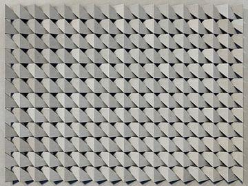 Reliëf A1 Grijs Karton van Frans Blok