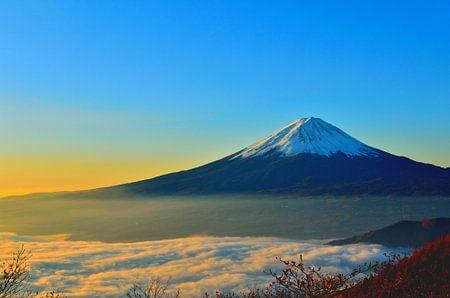 Japan - der Mount Fuji bei Sonnenaufgang