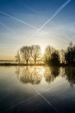 Kruisreflectie van Koen Boelrijk Photography