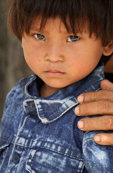Nepalese Boy van Gert-Jan Siesling