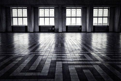 Kootwijk in zwart wit