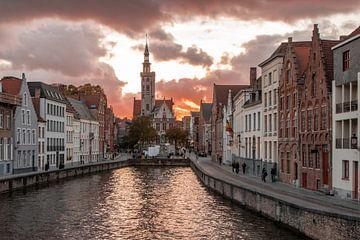 Jan van Eyckplein van Brugge van Martijn Mureau
