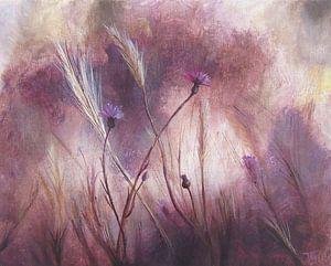 """Impressionistisch schilderij """"Kardoen & Vaste Dravik"""" van"""