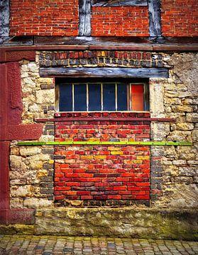 Wonky Wall (Muur en Bakstenen) van