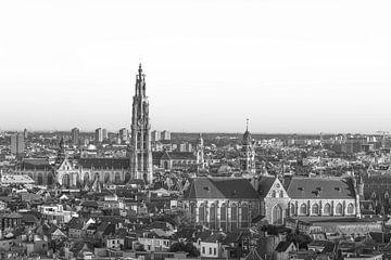 Onze Lieve Vrouwekerk in Antwerpen (Panorama) van MS Fotografie | Marc van der Stelt