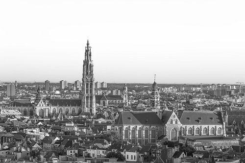 Onze Lieve Vrouwekerk in Antwerpen (Panorama) van MS Fotografie