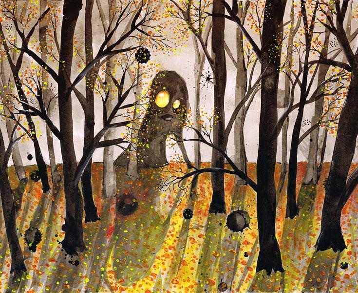 Monster in het woud van Bianca Wisseloo
