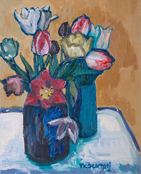 Tulpenmanie nr3 van Tanja Koelemij