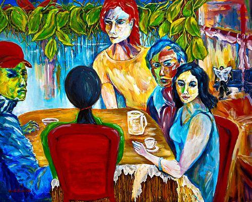 Im Café von