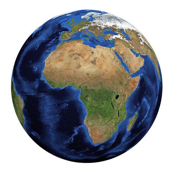 Globe sur Digital Universe