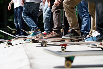 Skaters sur Colin van der Bel