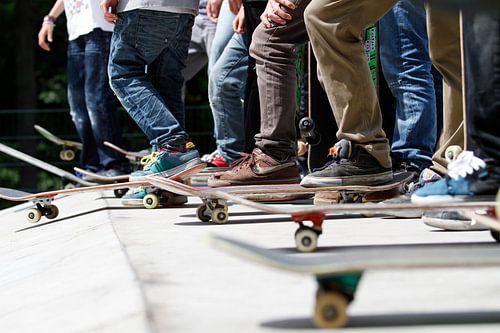 Skaters van Colin van der Bel