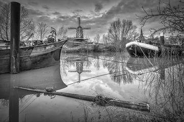 De Rijn en Lek, korenmolen - Wijk bij Duurstede