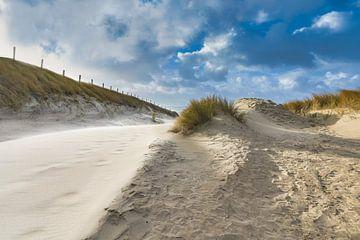 Zugang zum Strand bei Sturm von eric van der eijk