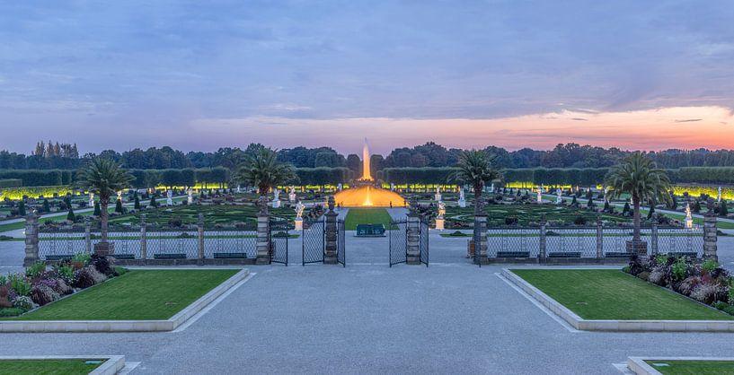 Herrenhäuser Gärten Panorama von Patrice von Collani