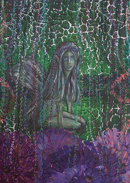 Living in a fantasy world van Art by Esther de Wolf
