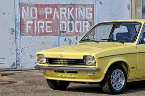 Opel Kadett C Front lost place