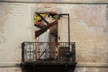 Lief balkonnetje van