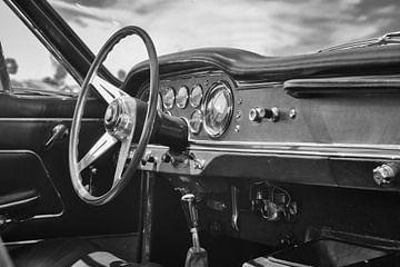 Maserati 3500 GT Spyder klassieker dashboard van Sjoerd van der Wal