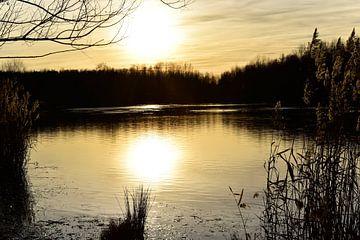 See im Sonnenuntergang von Marcel Ethner
