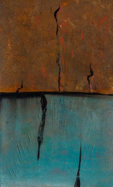 Horizon Compositie #6 van Sander Veen
