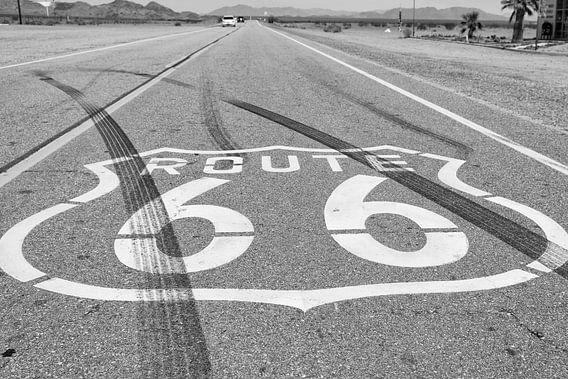 Route 66 van Chicago naar Los Angeles van Loek van de Loo