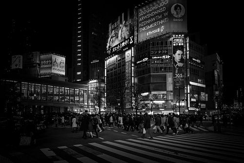 Shibuya Crossing Tokyo Japan von Sander Peters Fotografie