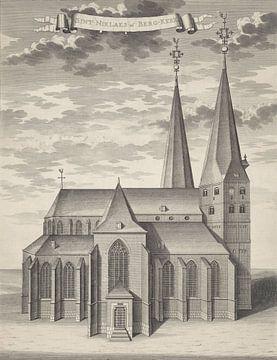 Die Bergkirche in Deventer von Joost van Sassen