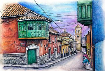 Série de villes 11 - Potosi
