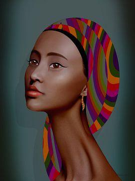 Sommer in Afrika von Ton van Hummel (Alias HUVANTO)