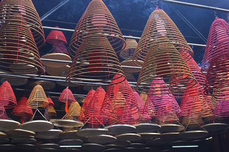 Mystische reiche in Tempel Buddha (Buddha), Hong Kong.