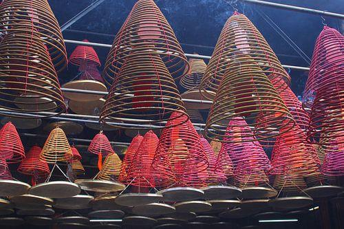Mystische reiche in Tempel Buddha (Buddha), Hong Kong.  von Inge Hogenbijl