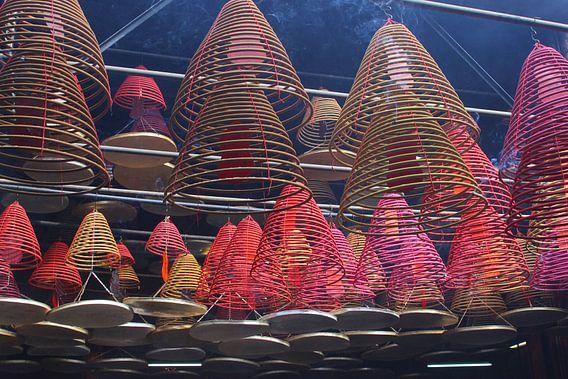 Wierook spiralen, Hongkong