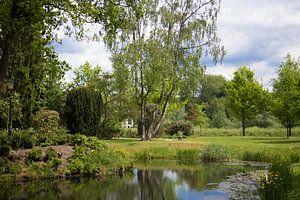 Tuin van Kasteel Bouvigne in Breda van Ad van Beek