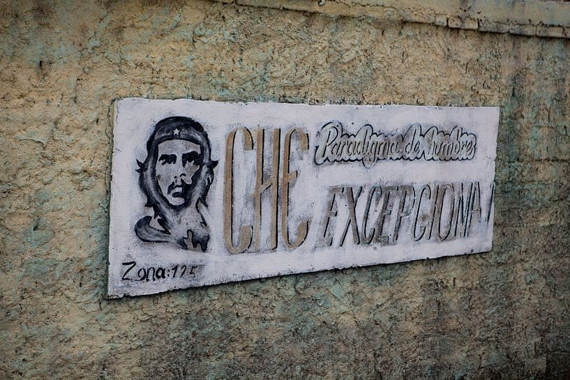 Che Guevara: uithangbord in Cuba van Kees van Dun