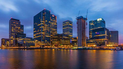 Canary Wharf London von Bert Beckers