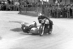 1952 - Norton zijspan racer van