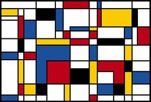 Samenstelling II Piet Mondriaan van