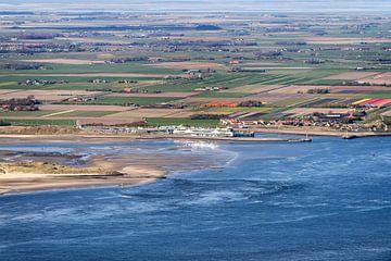 Vista over Texel van
