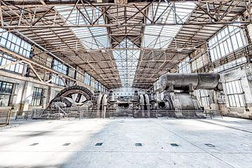 industriehal met machines