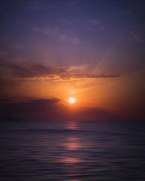 Orange sun van Sandra H6 Fotografie