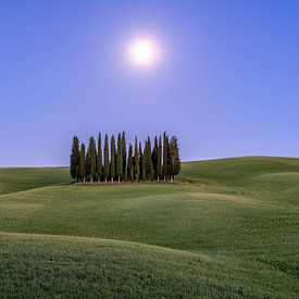 Volle Maan in Toscane I van Teun Ruijters