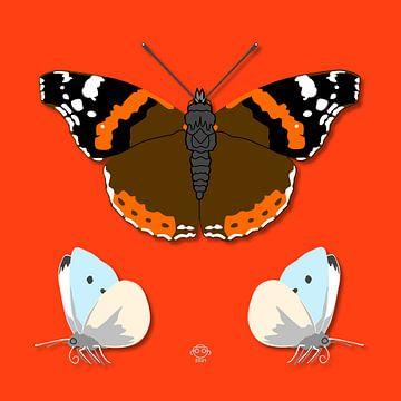 Vlinders van Marco Roling