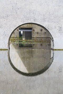 Passage d'eau dans le Waterloopbos sur Tonny Janssen